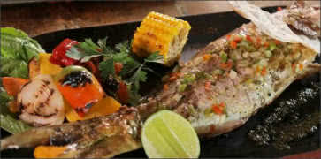 Fresh Snapper with House Sauce