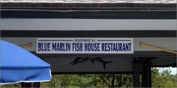 Blue Marlin Fish House in Miami Beach