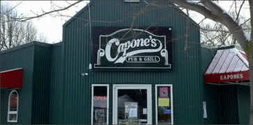 Capones Pub and Grill in Coeur d Alene