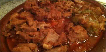 Veal and Peppers Stew
