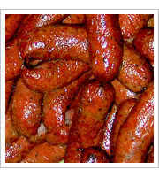 Beef Sausages at Louie Mueller BBQ