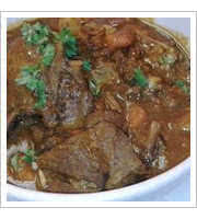 Caribbean Goat Stew at Jambo Cafe