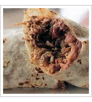 Carnitas Burrito at Litos Take Out