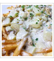 Chowder Fries at The Roost