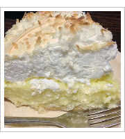 Coconut Cream Pie at Smokey Valley Truck Stop