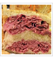 Corned Beef Reuben at The Bagel Delicatessen