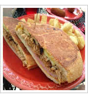 Cubano Sandwich at Victors 1959 Cafe
