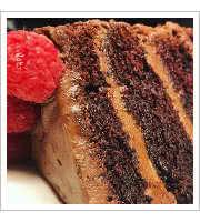 Dark Chocolate Cake at Zereldas Bistro