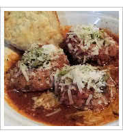 Famous Meatballs at Crocketts Public House