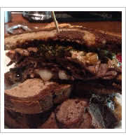 Hot Pastrami at Wrecking Bar Brewpub