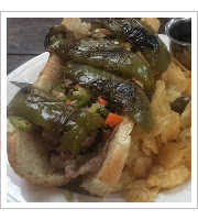 Italian Beef Sandwich at Sammich