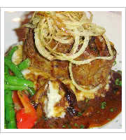 Kobe Meatloaf at Jax Truckee Diner