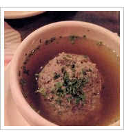 Liver Dumping Soup at Chicago Brauhaus