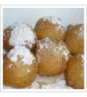 Loukoumades at Niko Nikos Greek and American Cafe