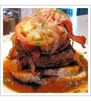 Open-Faced Meatloaf Sandwich at Comet Cafe