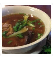 Oxtail Soup at The Alley at Aiea Bowl
