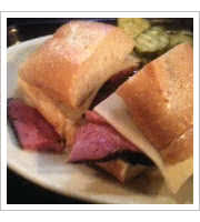 Pastrami Sandwich at Tommy's Joynt