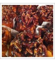 Pecan Buns at Danas Kitchen