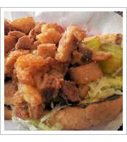 Pork Belly Po Boy at Big and Littles