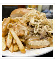 Pot Roast Sandwich at The Depot American Diner