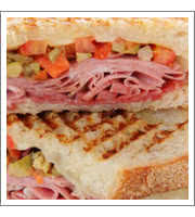 Pressed Panini at Panini Petes