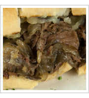 Prime Rib Cheese Steak at Ernest and Son Meat Market