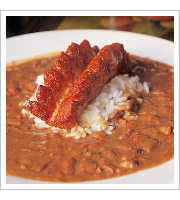 Red Beans and Rice at The Old Coffee Pot