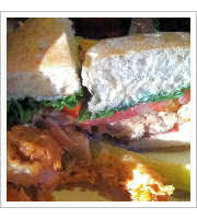 Smoked Salmon BLT at Parkview Nite Club
