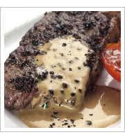 Steak Au Poivre Black Duck Cafe