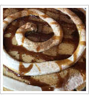 Cinnamon Swirl Pancake at Herms Inn