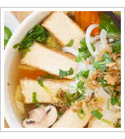 Tofu Vegetable Soup at Simply Vietnam Express