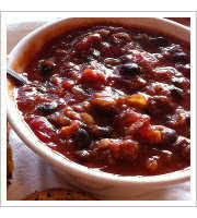 Vegan Chili at Melt Eclectic Cafe