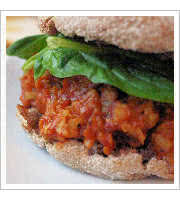 Vegan Sloppy Joe at Get Fresh Cafe