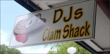 DJs Clam Shack