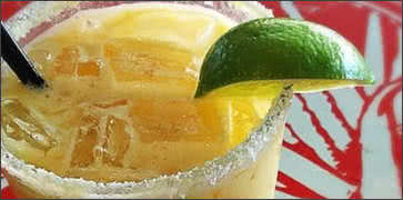 Spicy Coco Pashi Passion Fruit Margarita