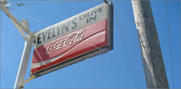 Evelyns Drive-In in Tiverton