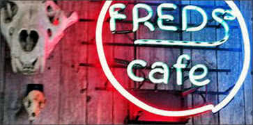 Freds Texas Cafe in Fort Worth