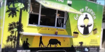 Green Papaya Food Truck