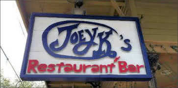 Joey K Restaurant and Bar in New Orleans
