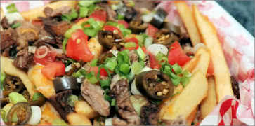Smoked Brisket Loaded Fries
