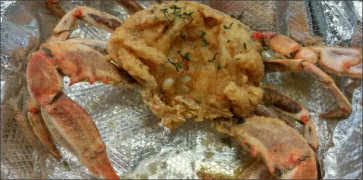 Fried Blue Crab