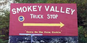 Smokey Valley Truck Stop in Olive Hill