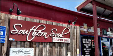 Southern Soul Barbecue in Simons Island