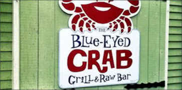 The Blue-Eyed Crab Caribbean Grill and Rum Bar in Plymouth
