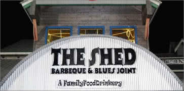 The Shed Barbeque and Blues Joint in Ocean Springs