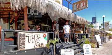 Tiki Bar in Cabo San Lucas