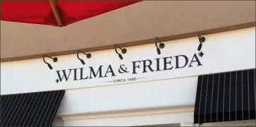 Wilma and Friedas Cafe
